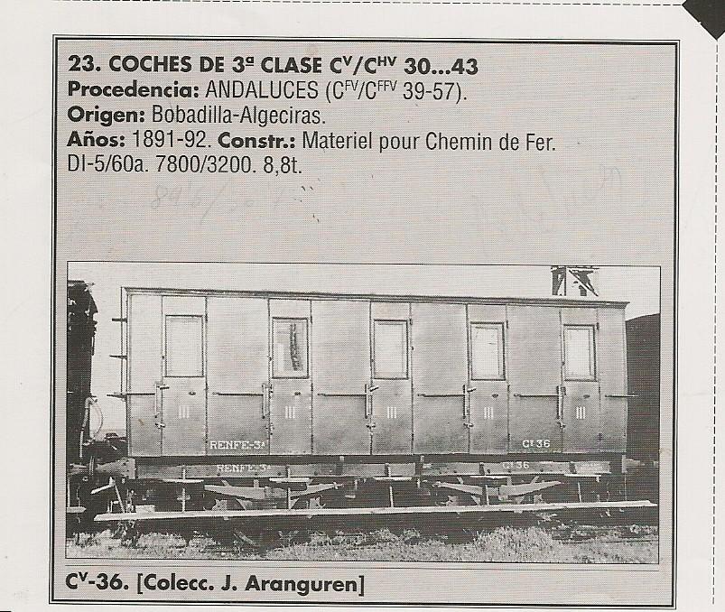 Coche de 3ª Cv 36