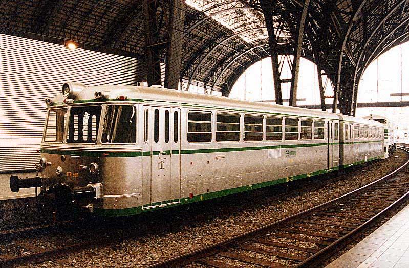 Ferrobus S/591 Coche Motor