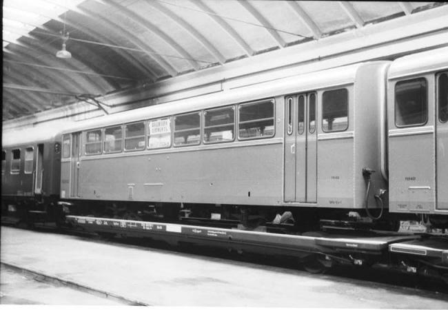 Ferrobus Remolque Intermedio