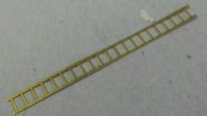 Escalerilla de latón  15 cm.