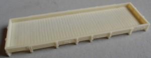 Plataforma para aljibe Larga 105 x 34 x 5mm
