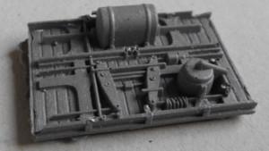 Bajos para vagones Largo 38mm