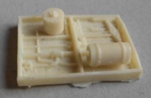 Bajos para vagones  largo 35 mm