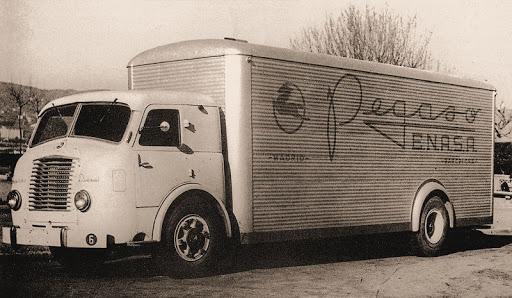 """Camion Pegaso Z 203  """"Mofletes de ENASA""""."""