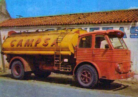 Cisterna Pegaso 1060 CAMPSA